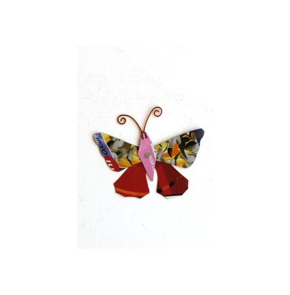 Marque pages papillon 8 x 6 cm