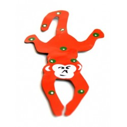 Magnet singe orange 14 cm
