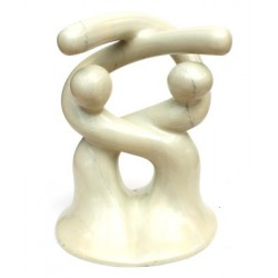 Sculpture design 14 cm large - 18 cm de haut en saponite