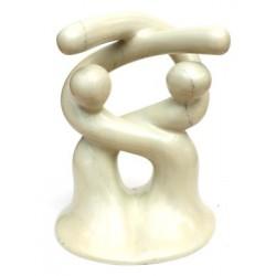 Sculpture design® 14 cm large - 18 cm de haut en saponite