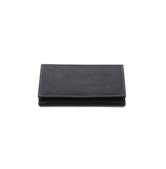 Porte cartes porte monnaie cuir 3 couleurs