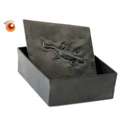 Boîte losange métal recyclé