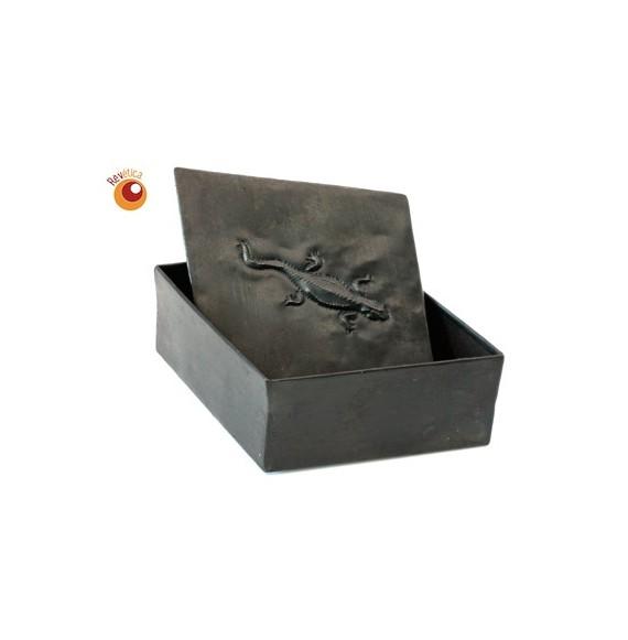 Boïte losange métal recyclé