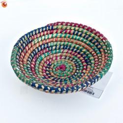 Corbeille Kaisa multicolore