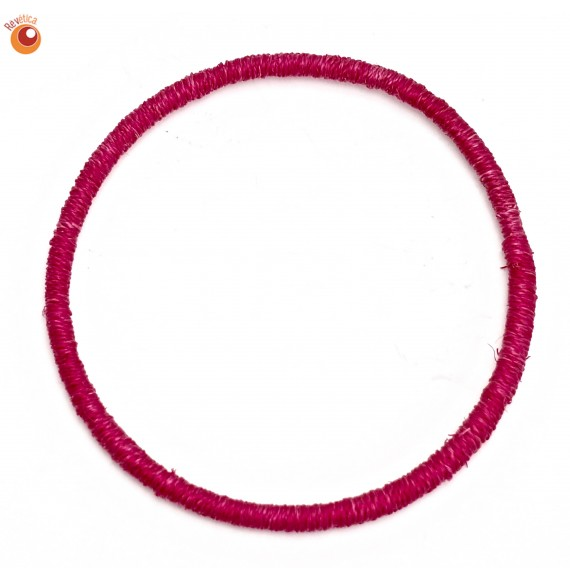 Bracelet sisal fushia