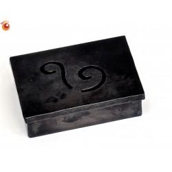 Boîte rectangle métal recyclé