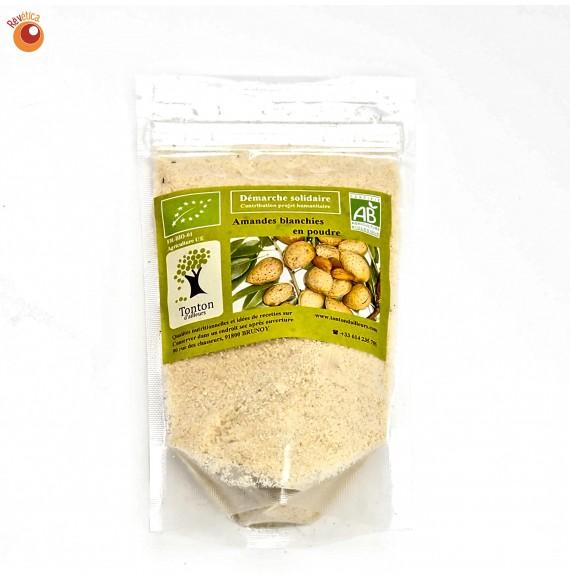 Amandes bio blanchies en poudre 125 g