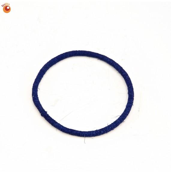 Bracelet sisal bleu