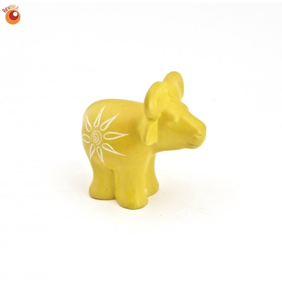 Buffle® 5 cm jaune en saponite