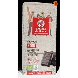 Chocolat bio noir 100 g
