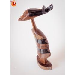 Sculpture femme en bois de santal