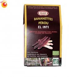 Bananettes Pérou El Inti bio 150 g