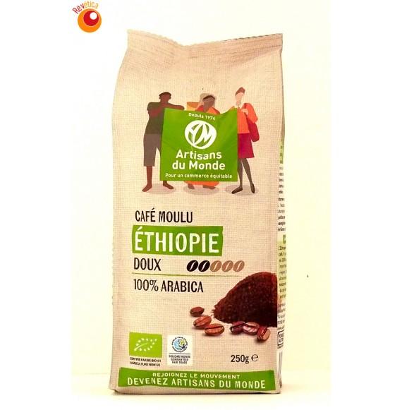 Café bio Ethiopie moulu 250 g