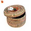 Boîte ronde herbe de Kaisa