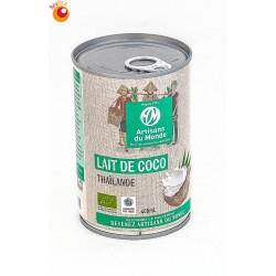 Lait de coco bio 400 ml