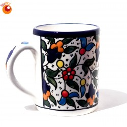 Mug céramique multicolore