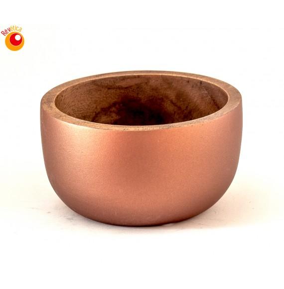 Bol bois acacia bronze