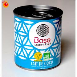 Lait coco bio 200 ml