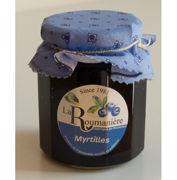 Confiture myrtilles 335 g