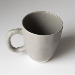 Mug céramique gris et crème