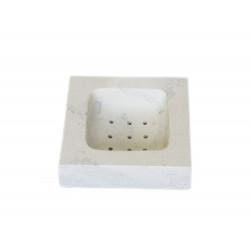 Porte savon carré en saponite