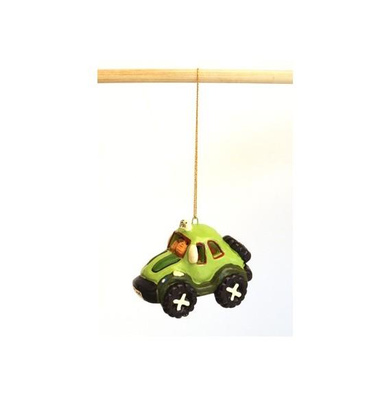 Mini taxi coccinelle à suspendre