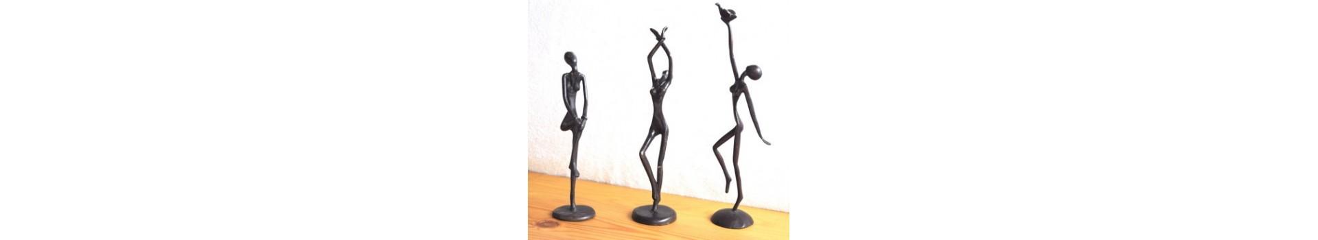 Statues en bronze